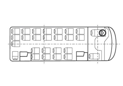 Схема посадочных мест паз